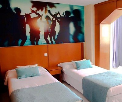 Appartement Standard (Étude + 1 Chambre) 2/5 Apartamentos Benidorm Celebrations™ Pool Party Resort (Adults Only)