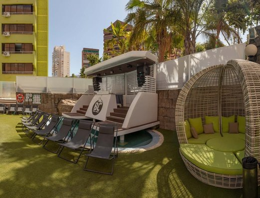Piscine Appartements Benidorm Celebrations™ Pool Party Resort (Adults Only)