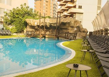 PISCINE EXTÉRIEURE Appartements Benidorm Celebrations™ Music Resort (Adults Only)