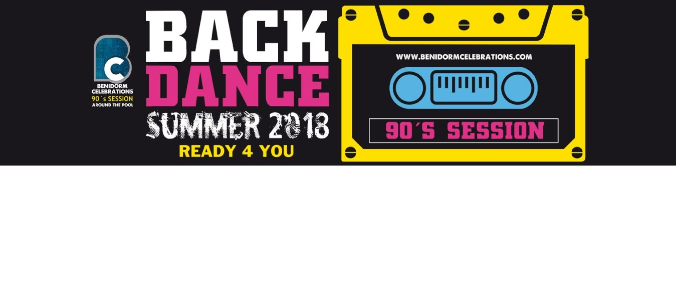 BACK DANCE SUMMER 2018 - Apartamentos Benidorm Celebrations™ Pool Party Resort (Adults Only)